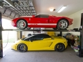 Gallardo-Spyder-Ford-GT-on-Lift