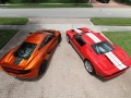 McLaren-MP4-12C-Volcano-Orange-vs-Ford-GT-Red-White-002