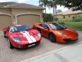 McLaren-MP4-12C-Volcano-Orange-vs-Ford-GT-Red-White-007