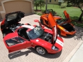 McLaren-MP4-12C-Volcano-Orange-vs-Ford-GT-Red-White-016