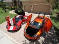 McLaren-MP4-12C-Volcano-Orange-vs-Ford-GT-Red-White-018